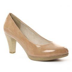 Chaussures femme été 2018 - escarpins marco tozzi beige