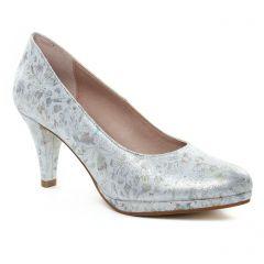 escarpins blanc argent: même style de chaussures en ligne pour femmes que les Marco Tozzi