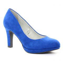 escarpins bleu: même style de chaussures en ligne pour femmes que les Perlato