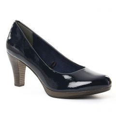 Chaussures femme été 2018 - escarpins marco tozzi bleu marine