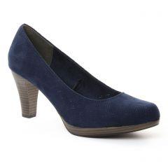 escarpins bleu marine: même style de chaussures en ligne pour femmes que les Marco Tozzi