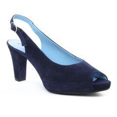 escarpins-bout-ouvert bleu marine: même style de chaussures en ligne pour femmes que les Dorking