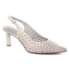 Chaussures femme été 2018 - escarpins brides tamaris beige