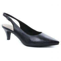 escarpins-brides noir: même style de chaussures en ligne pour femmes que les Tamaris