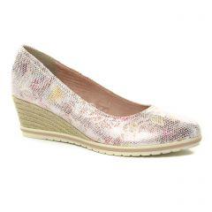 escarpins-talons-compenses multicolore: même style de chaussures en ligne pour femmes que les Tamaris