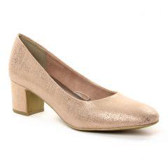 Chaussures femme été 2018 - escarpins marco tozzi rose doré