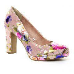 Tamaris 22431 Rose Flower : chaussures dans la même tendance femme (escarpins rose multi) et disponibles à la vente en ligne