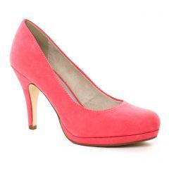 Tamaris 22407 Coral : chaussures dans la même tendance femme (escarpins rose) et disponibles à la vente en ligne