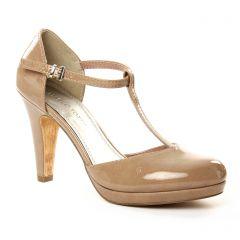 escarpins-salome beige: même style de chaussures en ligne pour femmes que les Perlato