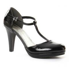 escarpins-salome noir: même style de chaussures en ligne pour femmes que les Marco Tozzi