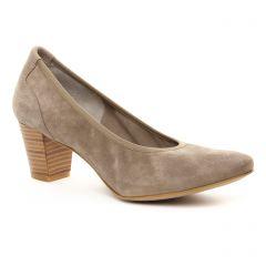 escarpins-trotteur beige taupe: même style de chaussures en ligne pour femmes que les Tamaris