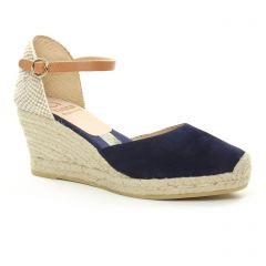 espadrilles-compensees-cordes bleu marine: même style de chaussures en ligne pour femmes que les Kanna