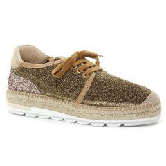tennis marron doré: même style de chaussures en ligne pour femmes que les Mamzelle