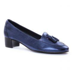 Chaussures femme été 2018 - mocassins Maria Jaén bleu marine