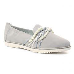 mocassins-confort beige gris: même style de chaussures en ligne pour femmes que les Tamaris