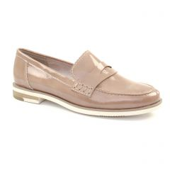 Chaussures femme été 2018 - mocassins confort marco tozzi beige