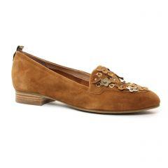 mocassins marron doré: même style de chaussures en ligne pour femmes que les Mamzelle