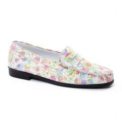 mocassins multicolore: même style de chaussures en ligne pour femmes que les Geo Reino