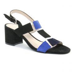 nu-pieds noir bleu: même style de chaussures en ligne pour femmes que les Scarlatine