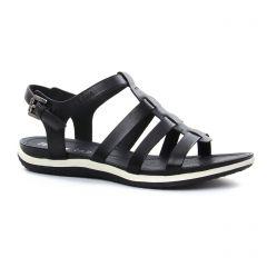 Chaussures femme été 2018 - nu-pieds Geox noir