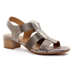 nu-pieds-talon bronze doré: même style de chaussures en ligne pour femmes que les Maria Jaén