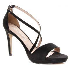 Chaussures femme été 2018 - nu-pieds talons hauts Scarlatine noir