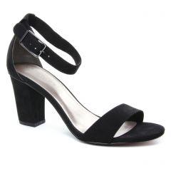 nu-pieds-talons-hauts noir: même style de chaussures en ligne pour femmes que les Tamaris