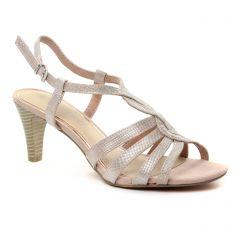 nu-pieds-talons-hauts rose: même style de chaussures en ligne pour femmes que les Marco Tozzi