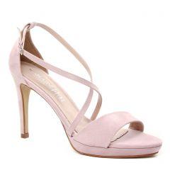nu-pieds-talons-hauts rose: même style de chaussures en ligne pour femmes que les Scarlatine
