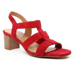 nu-pieds-talons-hauts rouge: même style de chaussures en ligne pour femmes que les Maria Jaén