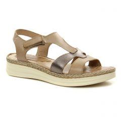 sandales beige doré: même style de chaussures en ligne pour femmes que les Dorking