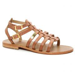 sandales beige rose: même style de chaussures en ligne pour femmes que les Les Tropéziennes