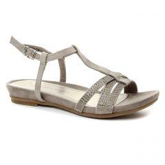 Marco Tozzi 28106 Taupe : chaussures dans la même tendance femme (sandales beige taupe) et disponibles à la vente en ligne