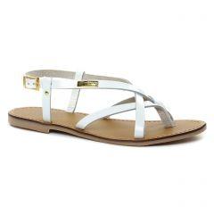 Chaussures femme été 2018 - sandales les tropéziennes blanc