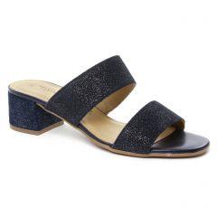 sandales bleu argent: même style de chaussures en ligne pour femmes que les Tamaris