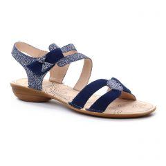 sandales bleu marine: même style de chaussures en ligne pour femmes que les Fugitive