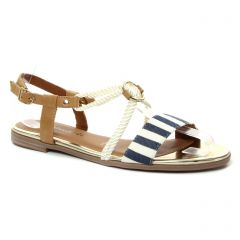 sandales bleu marine: même style de chaussures en ligne pour femmes que les Tamaris