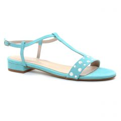 sandales bleu turquoise: même style de chaussures en ligne pour femmes que les Scarlatine