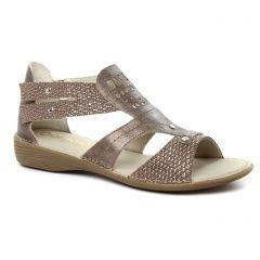 sandales marron doré: même style de chaussures en ligne pour femmes que les Dorking