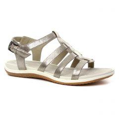 Chaussures femme été 2018 - sandales Geox bronze doré