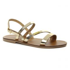 Chaussures femme été 2018 - sandales les tropéziennes doré