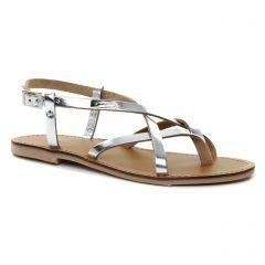 Chaussures femme été 2018 - sandales les tropéziennes gris argent