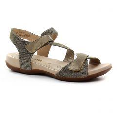 sandales gris doré: même style de chaussures en ligne pour femmes que les Les Tropéziennes