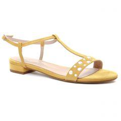 sandales jaune: même style de chaussures en ligne pour femmes que les Maria Jaén