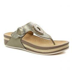 sandales marron bronze: même style de chaussures en ligne pour femmes que les Rieker