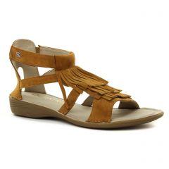 Dorking 7473 Cuero : chaussures dans la même tendance femme (sandales marron) et disponibles à la vente en ligne