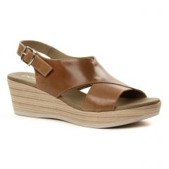 Chaussures femme été 2018 - sandales Dorking marron