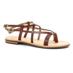 Chaussures femme été 2018 - sandales Geox marron