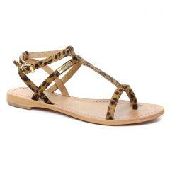 sandales marron léopard: même style de chaussures en ligne pour femmes que les Dorking