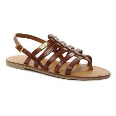 Les Tropéziennes Herilo Tan : chaussures dans la même tendance femme (sandales marron) et disponibles à la vente en ligne